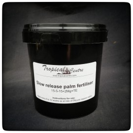 Slow release palm fertiliser